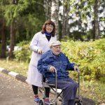 Прогулка с больными